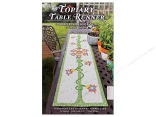 Quilted Trillium, The Table Runner & Kitchen Linens Patterns: Lauren & Jessi Jung Topiary Table Runner Pattern