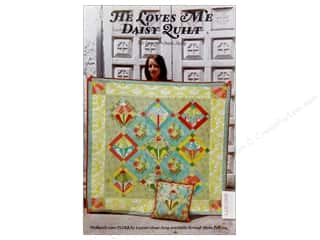Lauren & Jessi Jung Designs Flowers: Lauren & Jessi Jung He Loves Me Daisy Quilt Pattern