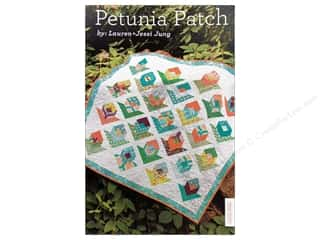 Lauren & Jessi Jung Designs Flowers: Lauren & Jessi Jung Petunia Patch Pattern