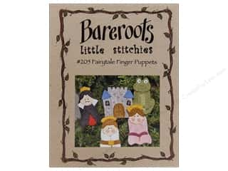 Wool Felt & Felting Patterns: Bareroots Little Stitchies Fairytale Finger Puppets Pattern