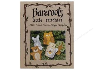 Wool Felt & Felting Patterns: Forest Friends Finger Puppets Pattern