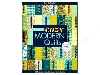 "Books & Patterns 11"": C&T Publishing Bright & Bold Cozy Modern Quilts Book by Kim Schaefer"