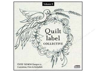David & Charles Computer Software / CD / DVD: C&T Publishing Quilt Label Collective CD - Volume 2