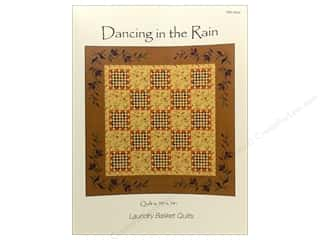 Pattern Basket, The: Laundry Basket Quilts Dancing In The Rain Pattern