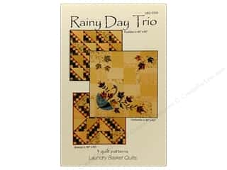 Quilt in a Day Quilt Patterns: Laundry Basket Quilts Rainy Day Trio Pattern