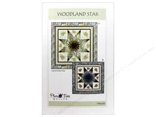 Stars Patterns: Plum Tree Quilts Woodland Star Pattern