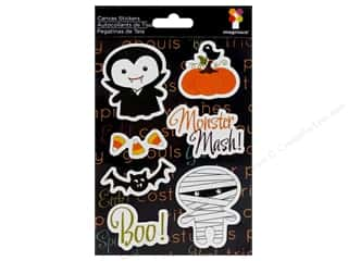 Imaginisce Sticker Monster Mash Canvas FrightNight