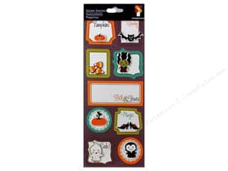 Imaginisce Dimensional Stickers: Imaginisce Stickers Monster Mash Stacker Magic Words