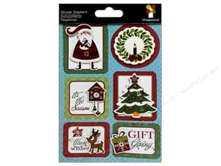 Imaginisce Sticker Xmas Cheer Stacker Gift Giving