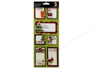 paper accents holly jolly: Imaginisce Sticker Xmas Cheer StackerHappyHolidays