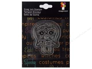 Imaginisce Snag 'em Stamp Monster Mash Sugar Skull