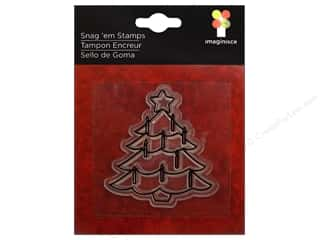 Imaginisce Snag &#39;em Stamp Christmas Cheer Candle Tree