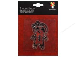 Imaginisce Snag &#39;em Stamp Gingerbread Girl