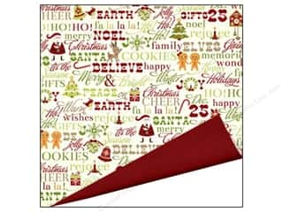 Imaginisce Paper 12x12 Xmas Cheer Be Jolly (25 piece)