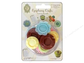 Epiphany Crafts Epiphany Accessories: Epiphany Accessories Charm Setting Vintage #14 Tea Room 10pc