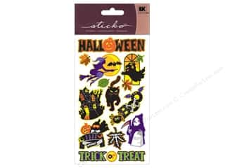 Clearance Stickers $0-$2: EK Sticko Stickers Sparkler Spooky Halloween