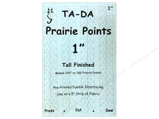 DAS Quilting: TADA Fusible Interfacing Prairie Points 1 in.