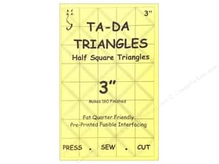 TADA Fusible Interfacing Half Square Triangle 3&quot;