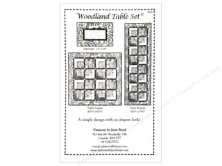 Clearance Blumenthal Favorite Findings: Woodland Table Set Pattern
