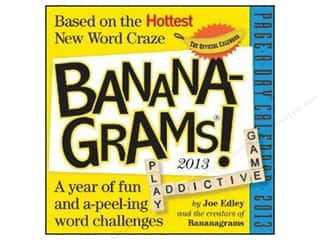 Page A Day Bananagrams Calendar 2013