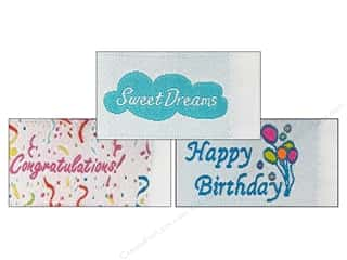 Labels: Tag It Ons Sew On Labels Congratulations Assorted 12pc