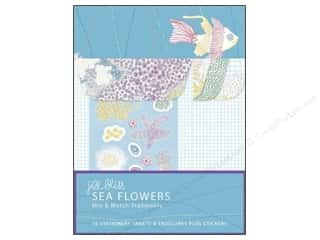 Stickers Chronicle Books: Chronicle Mix & Match Stationery Jill Bliss Sea Flowers