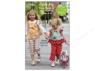 Cutie Pie Tops Pants & Doll Outfit Pattern