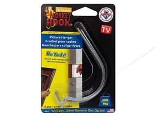 Monkey Hook Picture Hanger 20lb Original 4pc