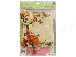 K&amp;Co Card &amp; Envelopes Beyond Postmarks Botanical