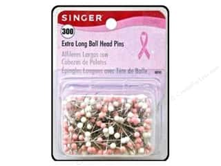 Singer Head Pins Extra Long Ball BCRF Sz28 300pc