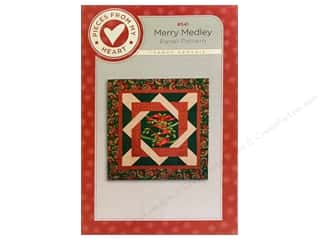 Hearts Christmas: Pieces From My Heart Merry Medley Pattern