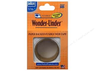 "Fusible Web $5 - $12: Pellon Fusible Stabilizer Wonder Under Web 5/8""x 20yd White"