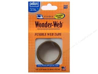 "Fusible Web $5 - $12: Pellon Fusible Stabilizer Wonder Web 5/8""x 20yd White"