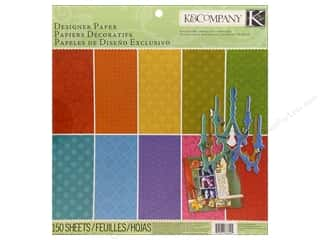 K&amp;Co Paper Pad 12x12 Essentials Dark Designer