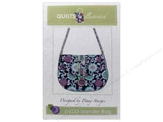 Quilted Trillium, The Purses, Totes & Organizers Patterns: Quilts Illustrated Islander Bag Pattern