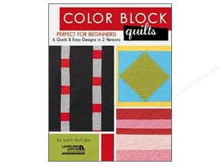Leisure Arts Clearance Patterns: Leisure Arts Color Block Quilts Book
