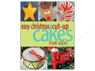 Easy Christmas Cut Up Cakes For Kids Book