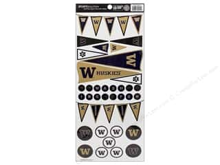 Sport Solution Captions: Sports Solution Sticker Pennant Washington