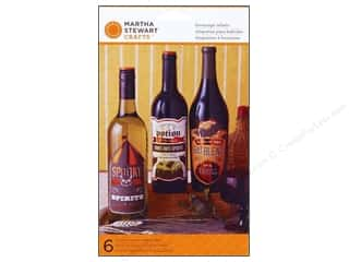 Martha Stewart Food Decorating Beverage Labels Carnival