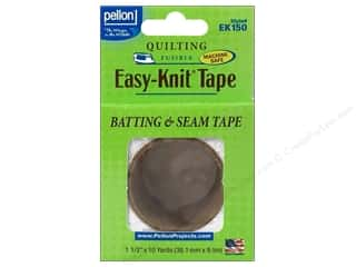 Pellon Easy-Knit Batting &amp; Seam Tape 1.5&quot;x10yd Wht