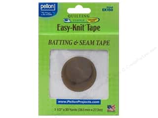 "Pellon Easy-Knit Batting & Seam Tape 1.5""x30yd Wht"