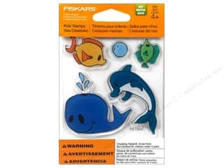 Fiskars Stamp Kids Clear Sea Creatures