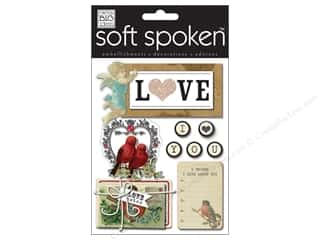 MAMBI Sticker Soft Spoken Vintage Love Birds