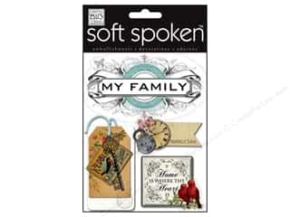 2013 Crafties - Best Adhesive: MAMBI Sticker Soft Spoken Vintage My Family