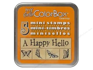 bird stamp: ColorBox My First Mini Stamps Prints