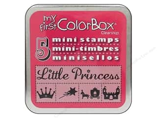 Clearance ColorBox Fluid Chalk Ink Pad Queues: My First ColorBox Mini Stamps Princess