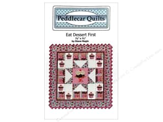 Prairie Sky Quilting Clearance Patterns: Peddlecar Quilts Eat Dessert First Pattern