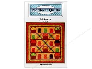 Jars Fruit & Vegetables: Peddlecar Quilts Full Pantry Pattern
