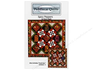 Jars Fruit & Vegetables: Peddlecar Quilts Spicy Peppers Pattern