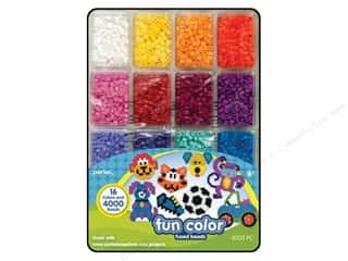 Perler $4 - $6: Perler Bead Tray 4000 pc. Fun Colors